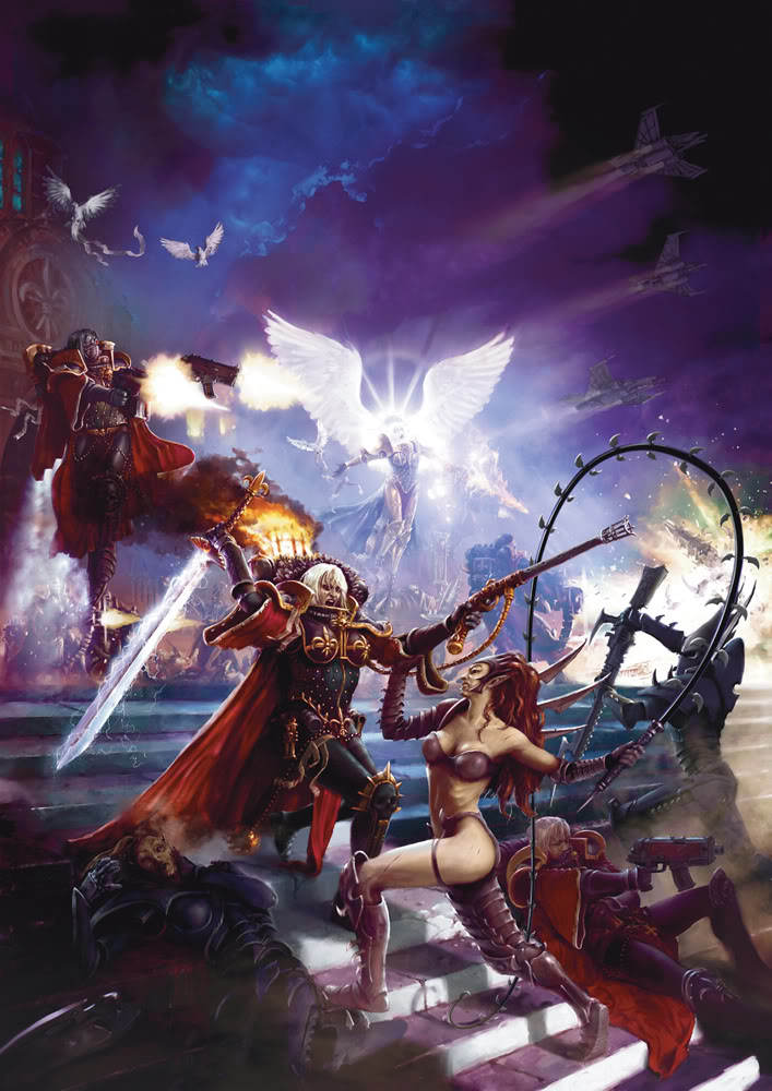 New Girl Trueborn from Raging Heroes Warhammer_40k_sisters_of_battle_adeptas_sororitas_battling_Dark_Eldar