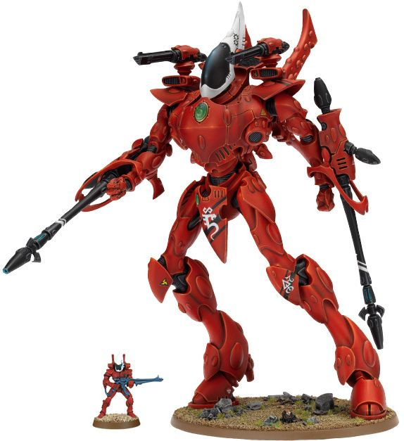 Actual Size Of A Wraithknight