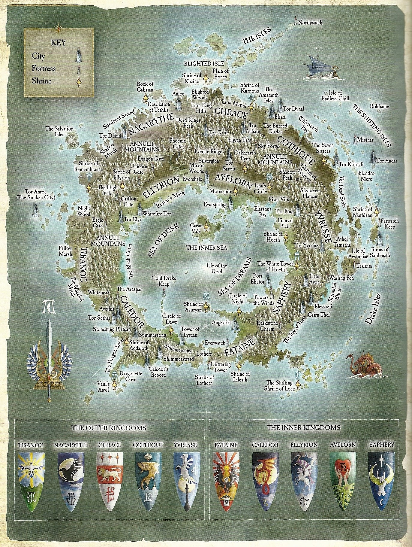 Warhammer cartography and maps