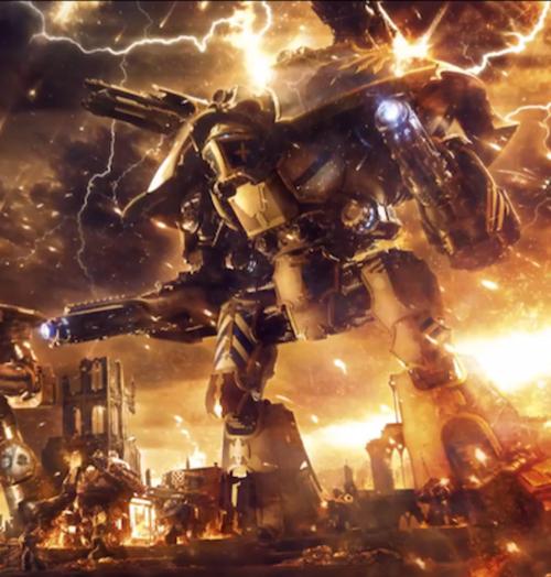 Warlord Battle Titan - 1d4chan