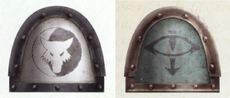 Luna Wolves - Sons of Horus legion pre-heresy shoulderpad.png