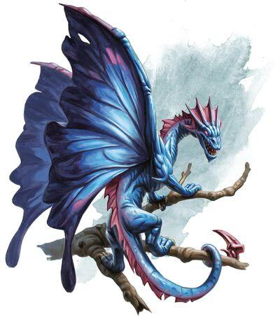 Faerie Dragon - 1d4chan