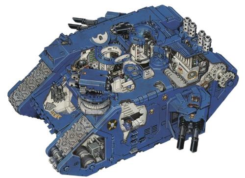 land raider terminus ultra 7th edition