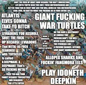Age of Sigmar/Tactics/Order/Idoneth Deepkin - 1d4chan