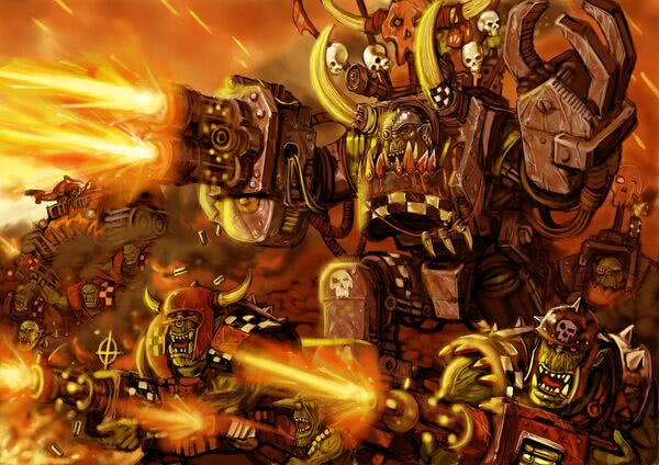 Image result for ork wh40k
