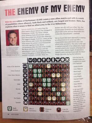 Warhammer 40,000 7th edition - 1d4chan