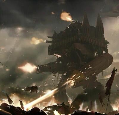 Emperor Battle Titan - 1d4chan