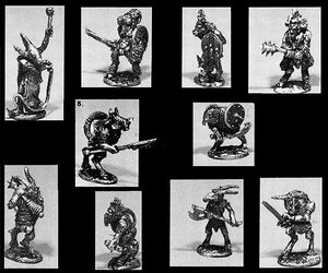 skaven clanrats coloring pages | Beastmen - 1d4chan